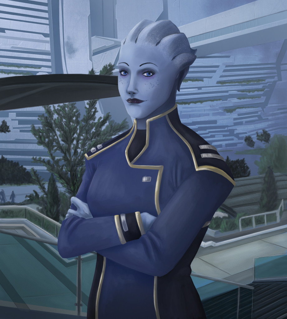 Liara in the SA, by Armesan