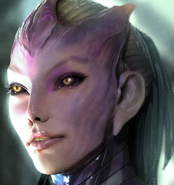 Perspectives of Character : on Tali'Zorah